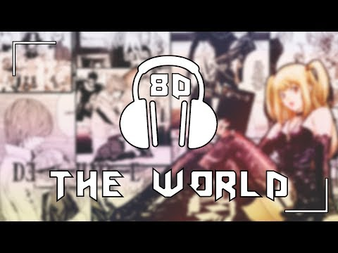 Death Note [OP 1] - The WORLD/Nightmare   8D AUDIO