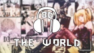Death Note [OP 1] - the WORLD/Nightmare | 8D AUDIO