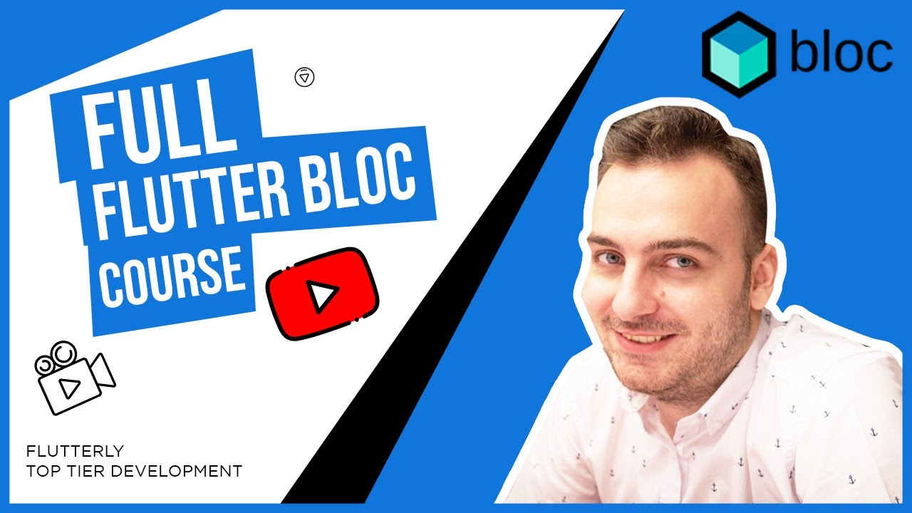 The Best Flutter Bloc Complete Course - Visualise, Understand, Learn & Practice Bloc Concepts