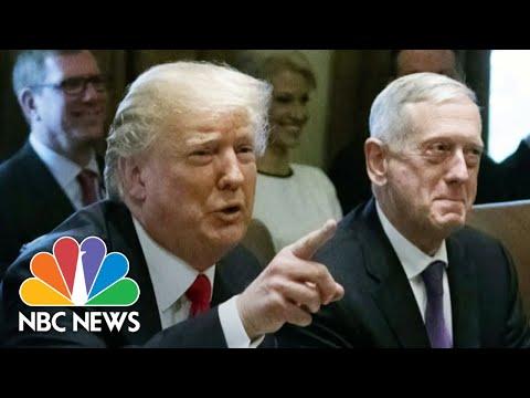 Ex-Defense Sec. Mattis Denounces Trump, Says He's Dividing Americans   NBC Nightly News