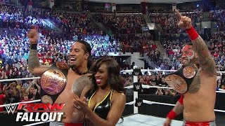 The Usos are inducting Rikishi into the WWE Hall of Fame: Raw Fallout, February 9, 2015