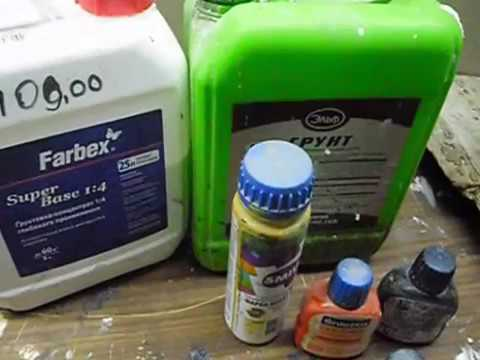 Как покрасить бетон на улице