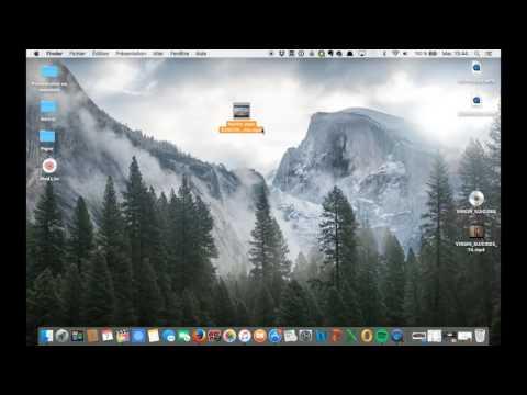Elaguer une vidéo avec QuickTime Video Player sur Mac