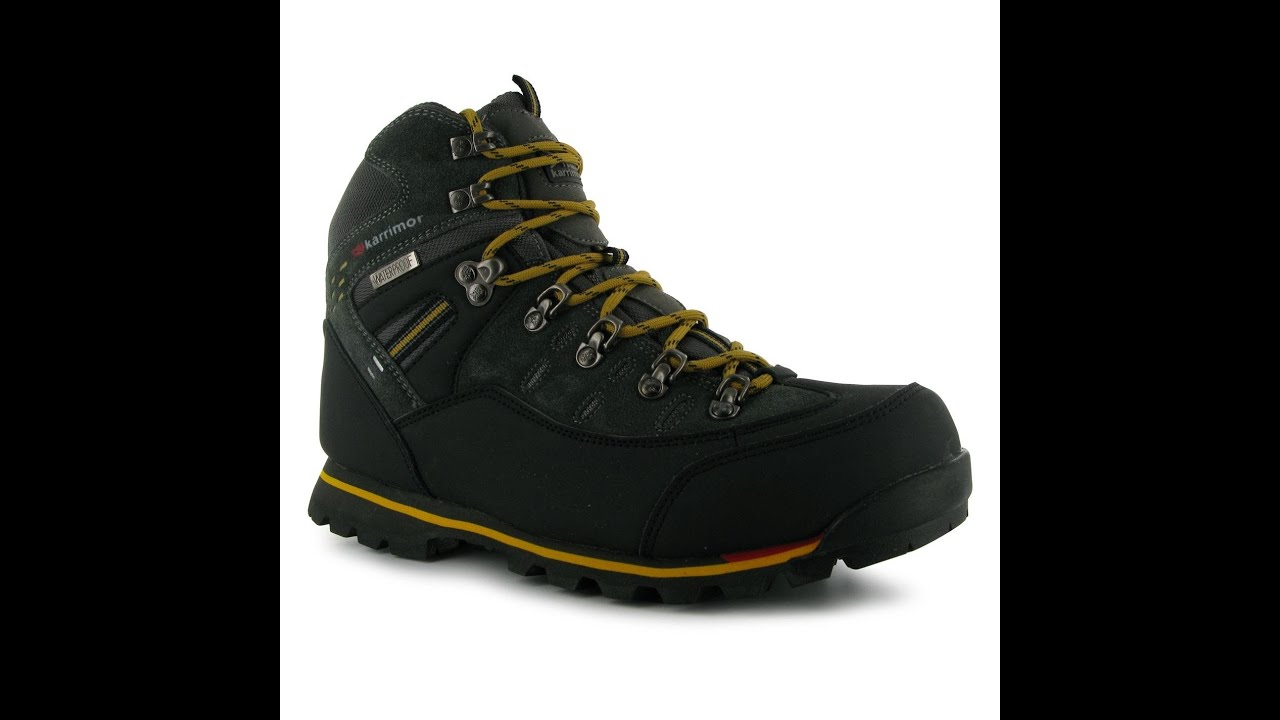 a23c035d36 Karrimor Hot Rock Mid Mens Walking Boots. Sportsdirect Shoes - YouTube