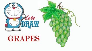How to draw grapes step by step (very easy) - Stafaband