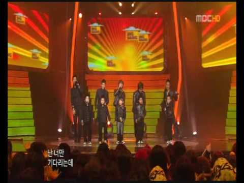 [311208] Big Bang & Little Big Bang - Sunset Glow - MBC Music Festival