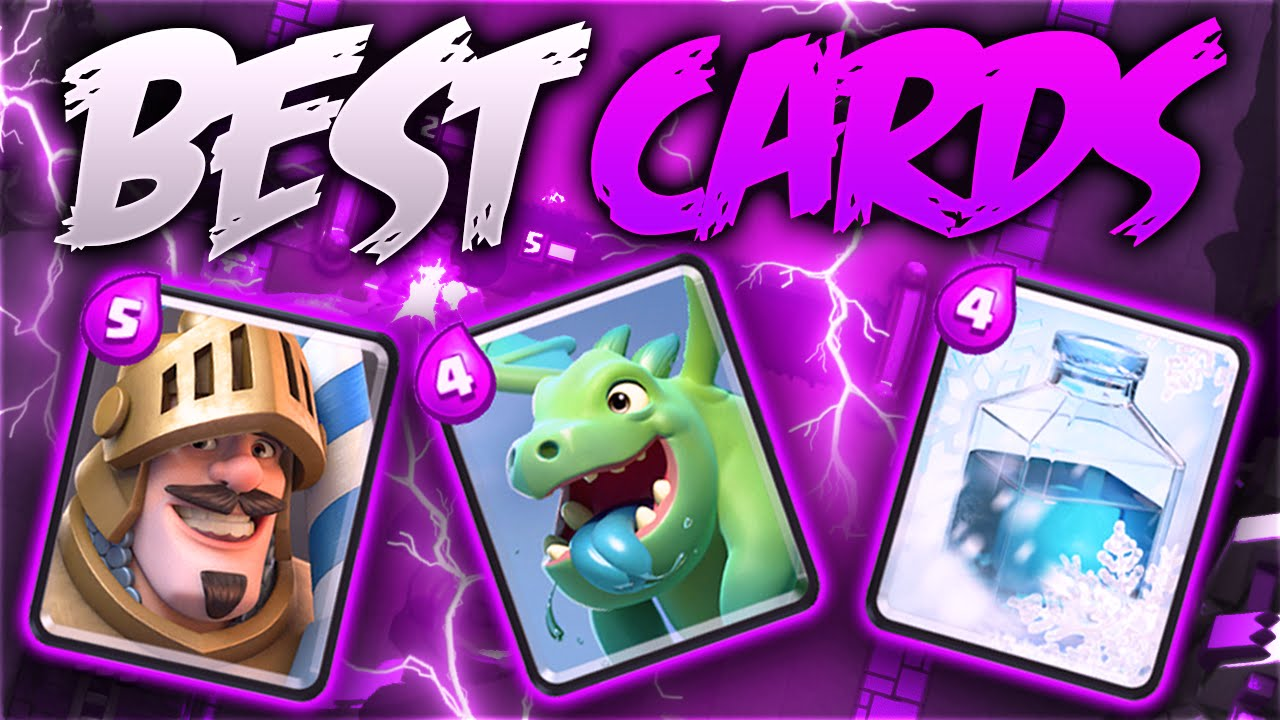 Clash Royale – TOP 5 'BEST CARDS' IN CLASH ROYALE! MOST OVERPOWERED