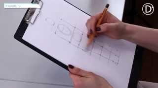 видео Рисование фигуры человека