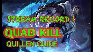 Stream record Crazy qullen QUAD kill ! LIVE SOUND ! WITH ZIII RUIZ
