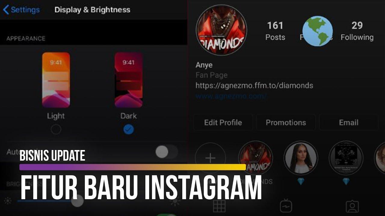 Ini Caranya Coba Dark Mode Di Instagram Youtube