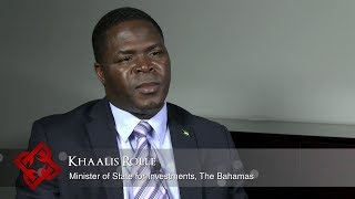 Bahamas Minister of State for Investments Khaalis Rolle on foreign direct investment in The Bahamas