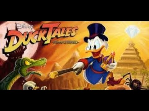 playing Ducktales remastered  