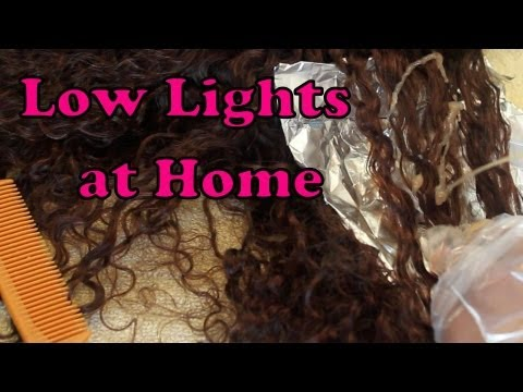 How to Color / Dye Hair - Low Lights & How to Color / Dye Hair - Low Lights - YouTube azcodes.com