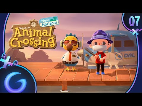 ANIMAL CROSSING NEW HORIZONS FR #7 : Première Expédition !