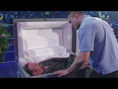 The Undertaker interrupts his funeral: SmackDown, Sept. 23, 2005