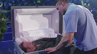 The Undertaker interrupts his funeral SmackDown, Sept. 23, 2005