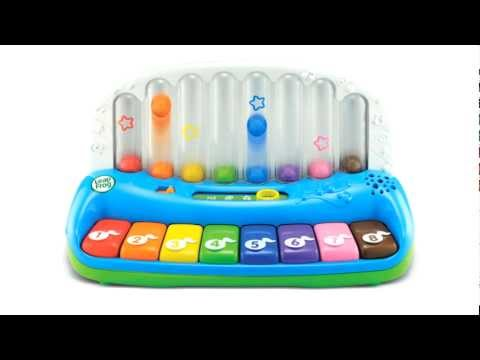LeapFrog Poppin Play Piano - A rainbow of musical learning fun!