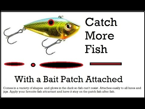 fishing lure bait patch-my latest invention- vote for it on quirky, Hard Baits