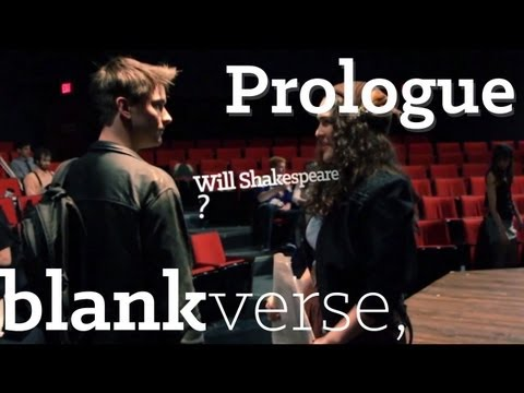 Blank Verse: The Prologue