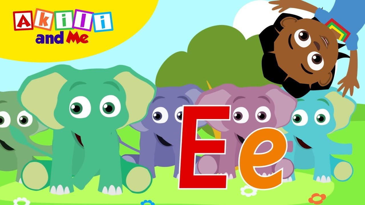 E is for Elephants! | Meet Letter E | Learn the Alphabet with Akili and Me