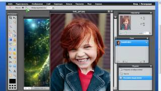 Замена фона в Фотошопе (Photoshop) онлайн(Как просто поменять фон в фотошопе онлайн, сайт http://fotoon.ru., 2012-03-29T06:30:20.000Z)