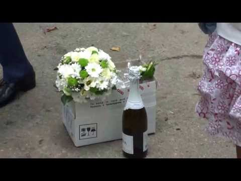 День свадьбы ...во дворе невесты