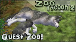 Quest Zoo! Birth of Wolf Pups!! - Episode #13