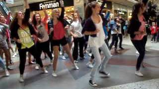 Justin Bieber Dance flash mob in Sweden, Gothenburg, nordstan 19/6-10