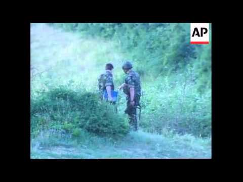 KOSOVO: 2 GURKHA SOLDIERS KILLED IN MINE EXPLOSION (2)