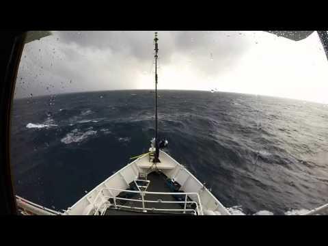 NOAA Ship Nancy Foster in Bumpy Seas