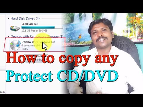 How To Unprotect A Write Protect CD/DVD || Tips And Solution