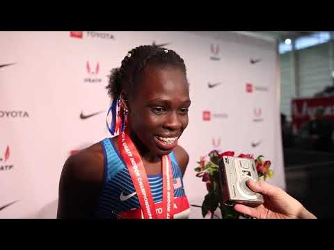 Athing Mu American Record 600m At USA Indoors