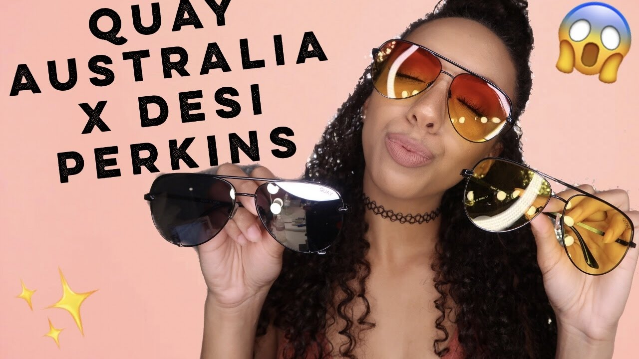 a921831193 QUAY AUSTRALIA X DESI PERKINS SUNNIES REVIEW   UNBOXING