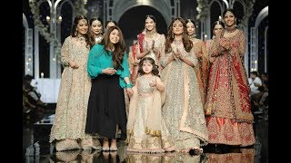 PANTENE HUM BRIDAL COUTURE WEEK 2018| Aisha Imran Collection #PHBCW  #HBCW