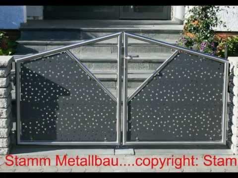19 eingangstore und gartent ren stamm metallbau sinsheim elsenz edelstahl kraichgau. Black Bedroom Furniture Sets. Home Design Ideas