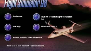 [WIN95]Microsoft Flight Simulator 98 Demo