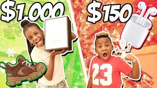 Cheap Vs Expensive Christmas Gifts