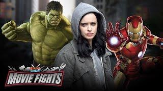 Jessica Jones & MCU Team Up?! - MOVIE FIGHTS!