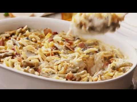 Campbell's Kitchen | Bacon and Cheddar Green Bean Casserole