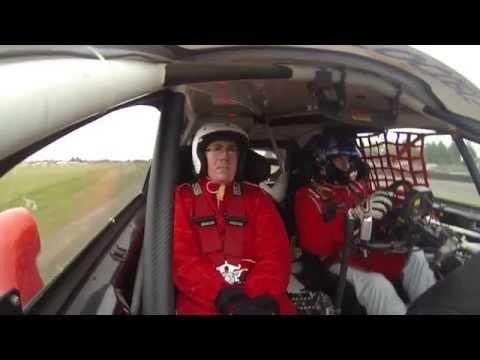 Volunteer marshal gets a 600bhp ride