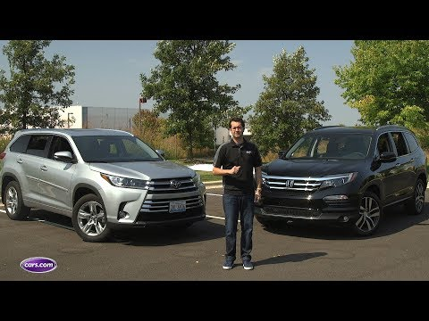 Highlander Vs. Pilot: Which 2017 3-Row SUV Should You Buy? — Cars.com