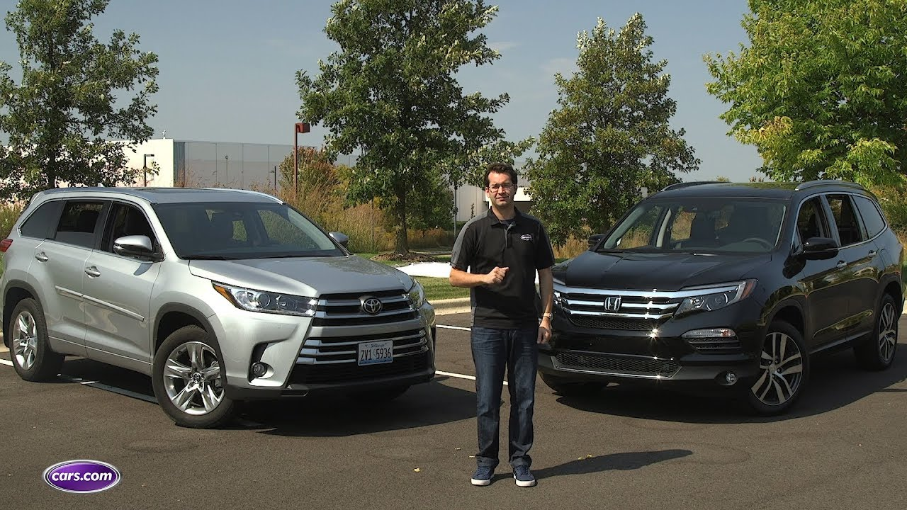 Highlander Vs. Pilot: Which 2017 3 Row SUV Should You Buy? U2014 Cars.com