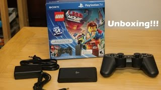 PlayStation TV System Bundle Early Unboxing