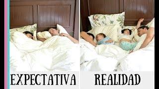 Matrimonio con hijos EXPECTATIVA VS REALIDAD | Matrimonio bilingüe