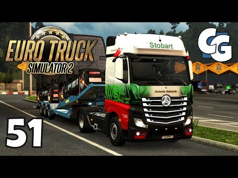 Euro Truck Simulator 2 - Ep. 51 - Starting Stobart Delivery to Barcelona - ETS2 ProMods 2.1 Gameplay
