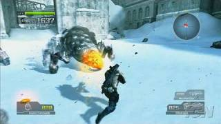 Lost Planet: Extreme Condition PlayStation 3 Gameplay -