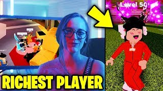 RICHEST Jailbreak Player REVEALS Her Secrets... (Roblox Jailbreak)