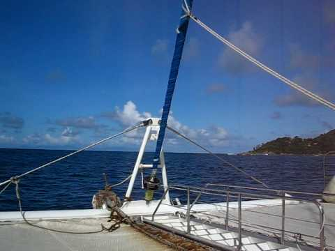 Seychelles (Seychely) From Praslin Port to Cousin Island 2
