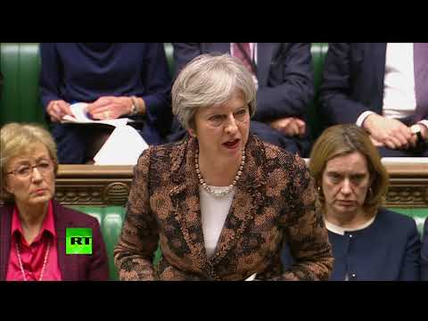 May speech on Skripal poisoning: \'Highly likely\' Russia responsible