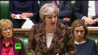 May speech on Skripal poisoning: 'Highly likely' Russia responsible Prime Minister Theresa May is giving an update to MPs on the poisoning of Russian ex-double agent Sergei Skripal and his daughter. May told the Commons military-grade nerve agent from Rus